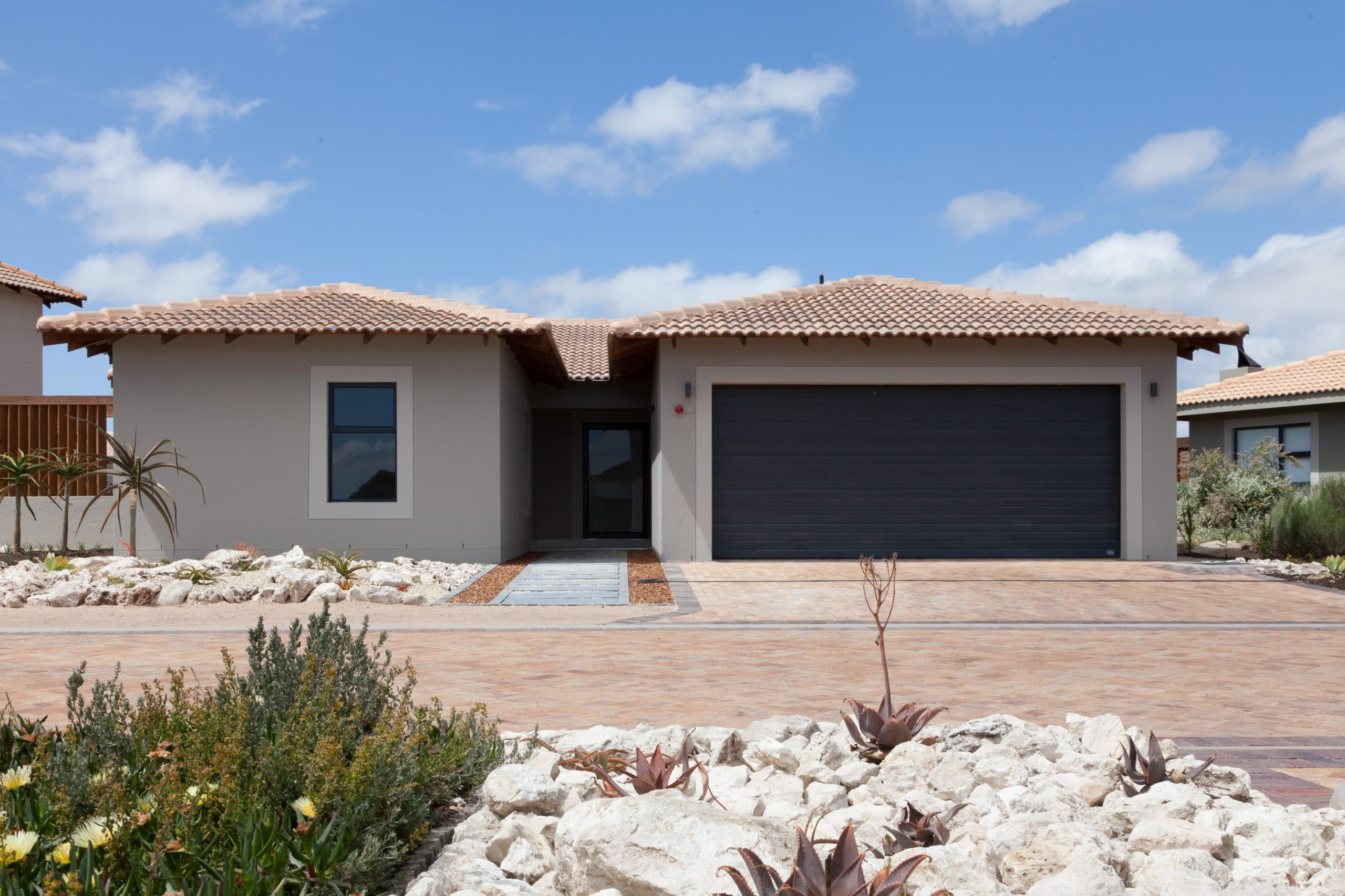 modern home built in langebaan country estate