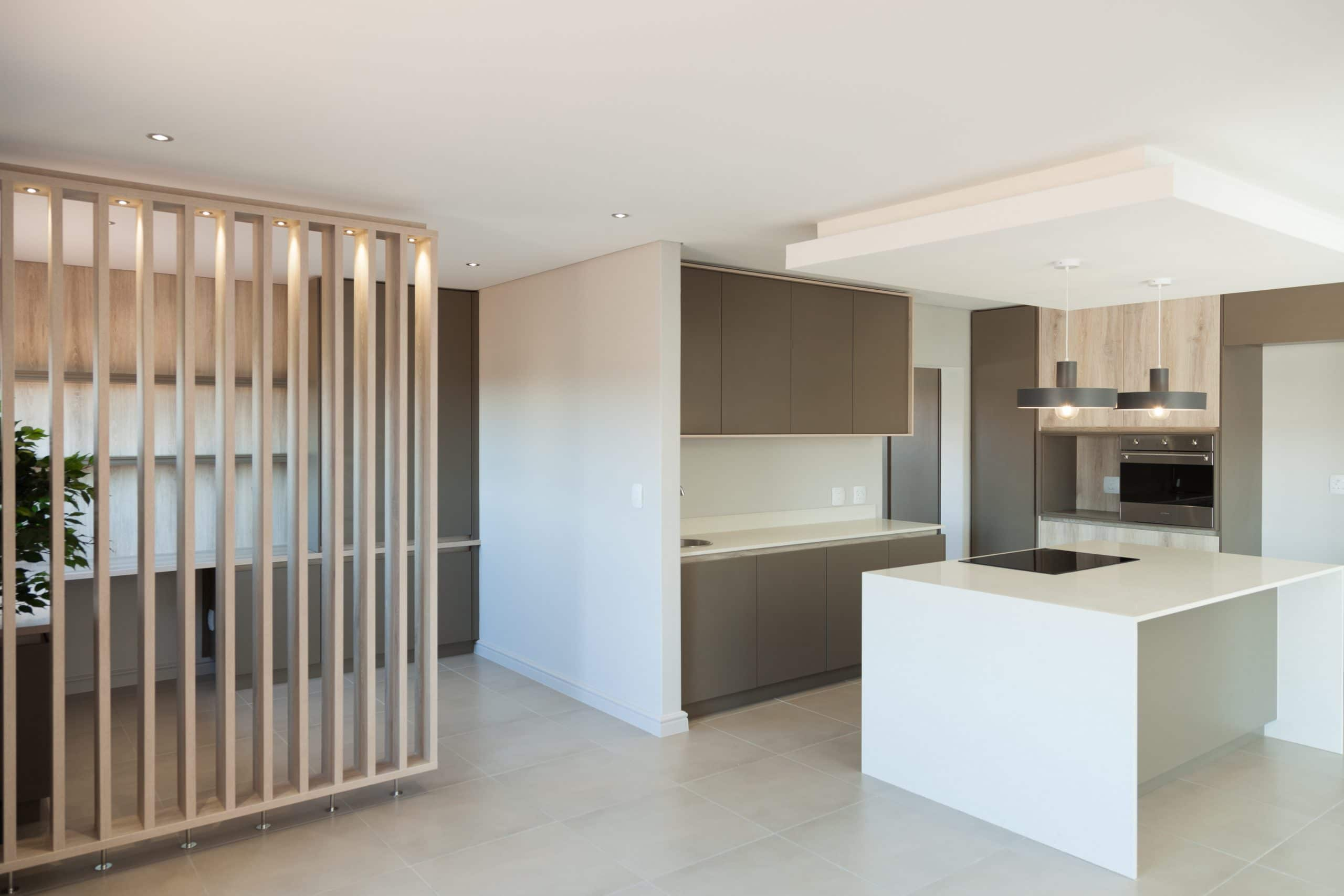 modern kitchen langebaan country estate with home office