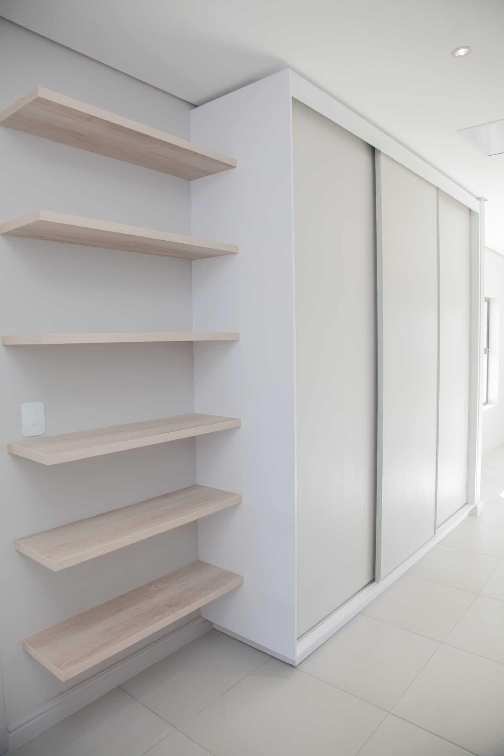 floating wooden shelves bedroom cupboards