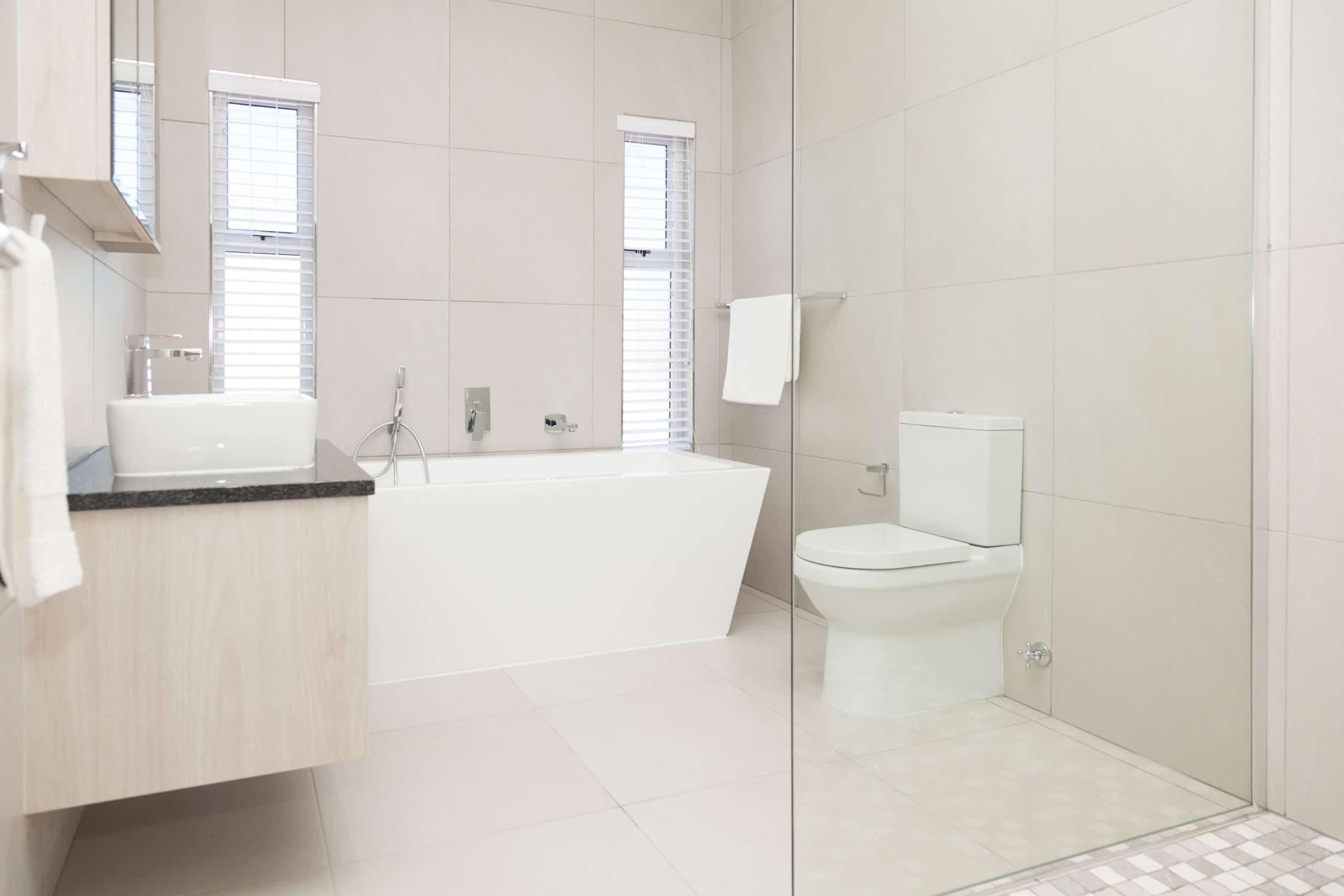modern bathroom wall tiles freestanding bath