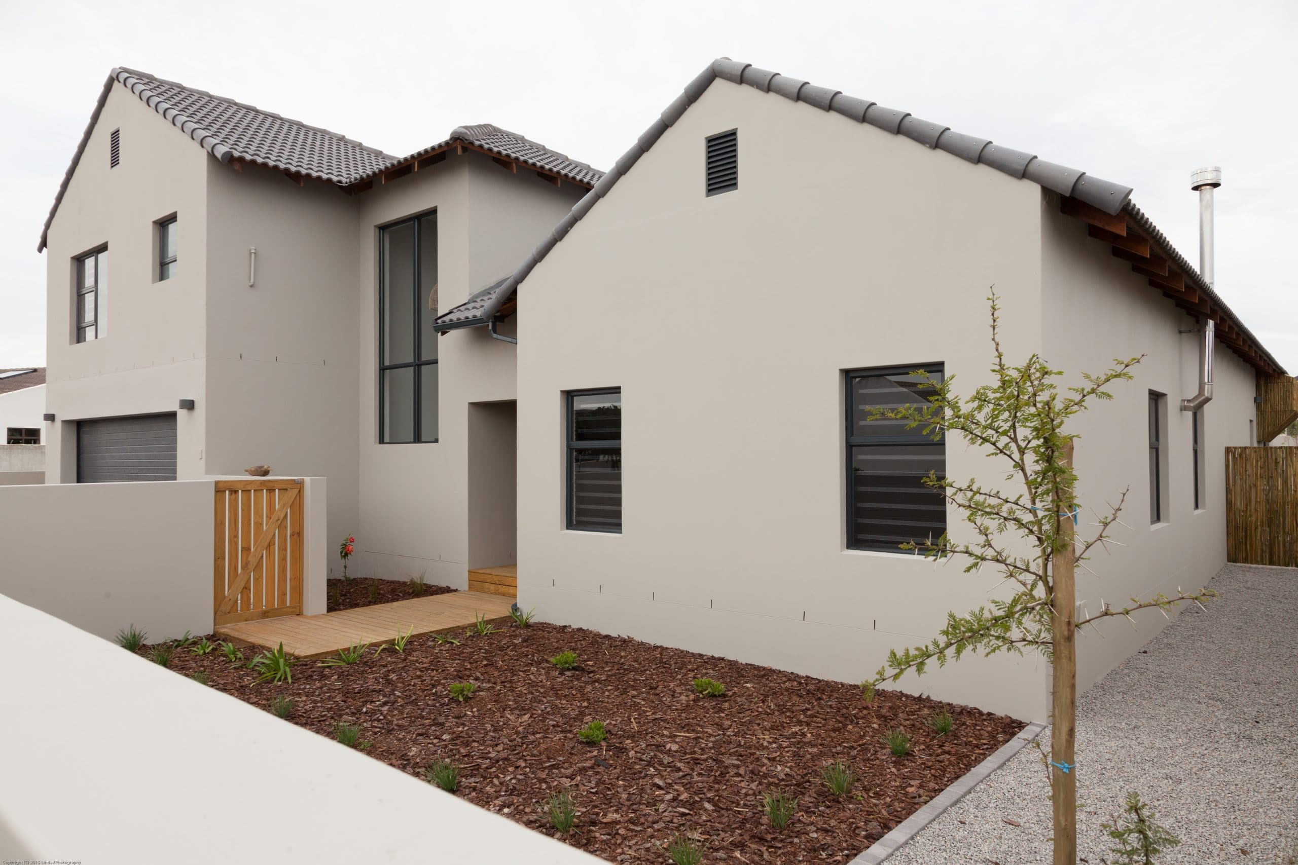 modern designed home langebaan crontech consulting architecture