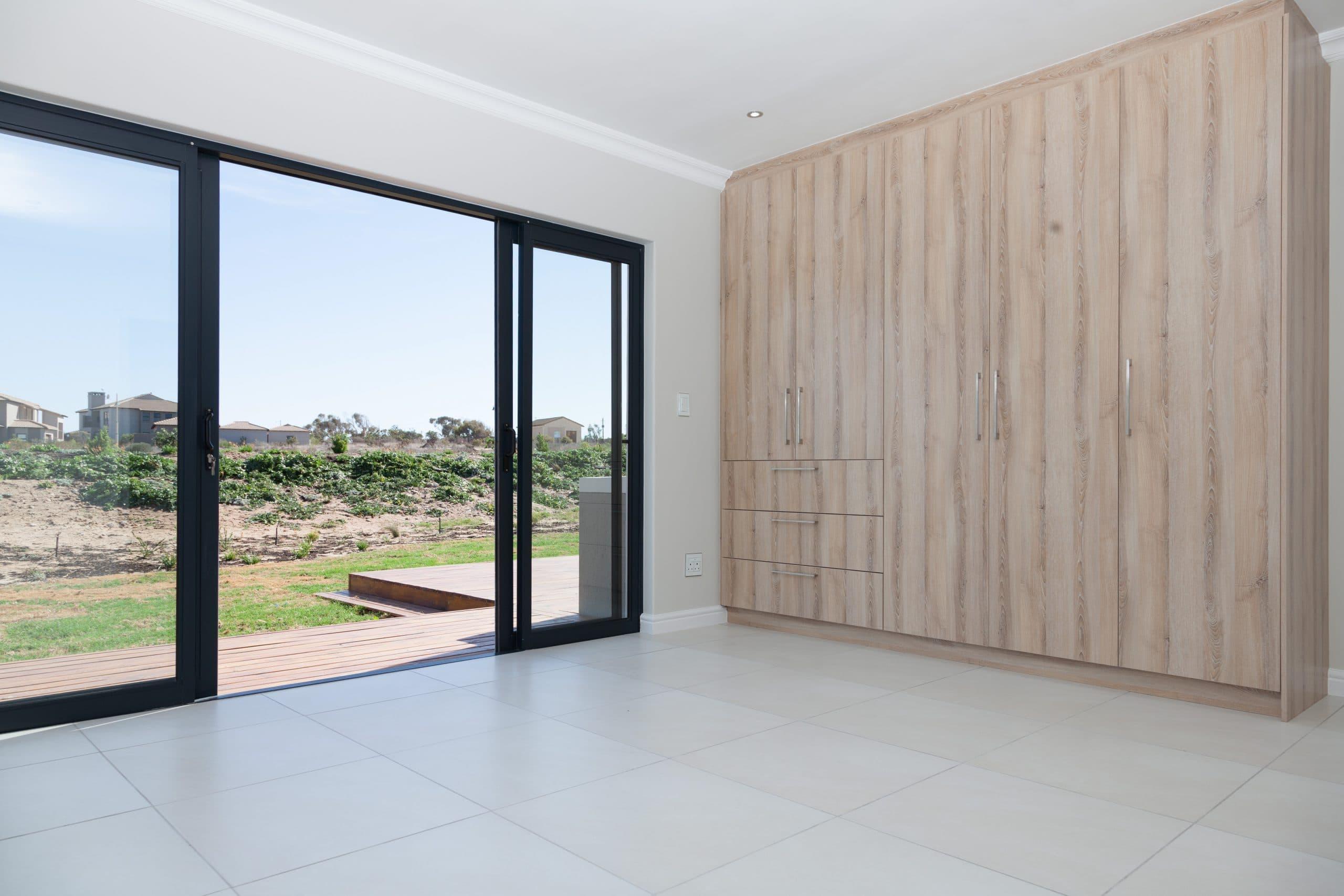 bedroom cupboards overlooking langebaan country estate