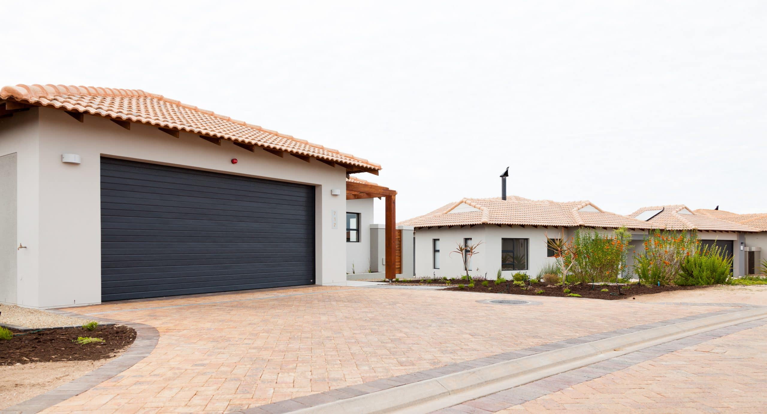 big paved driveway langebaan country estate