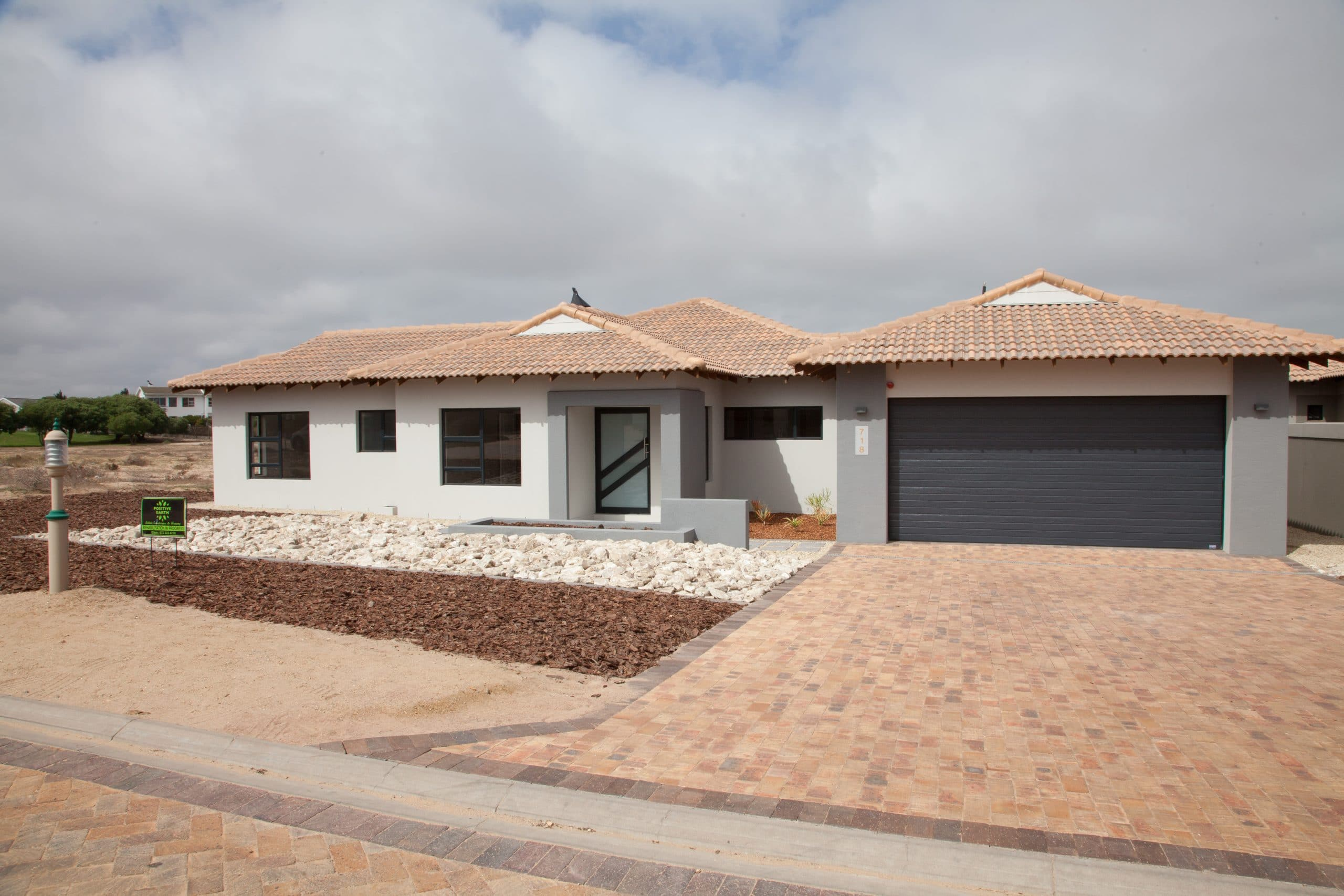 positive earth landscape langebaan country estate construction