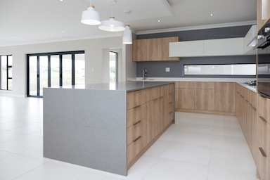 grey and white kitchens langebaan country estate smeg appliances